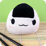 Kawaii Onigiri Rice Ball Plush