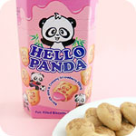 Meiji Hello Panda Biscuits - Strawberry
