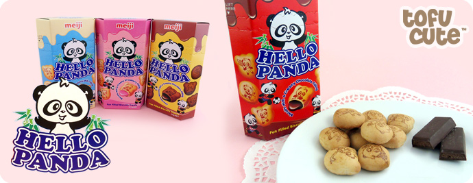 Meiji Hello Panda Biscuits - Chocolate