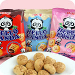 Meiji Hello Panda Snack Pack Biscuits