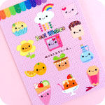Kawaii Things with Faces Greeting Card