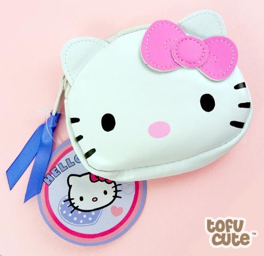 08d381674517 Buy Sanrio Hello Kitty Face Shaped Coin Purse at Tofu Cute