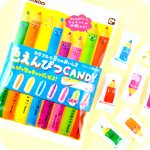 Kanro Iro Enpitsu Coloured Pencil Candy