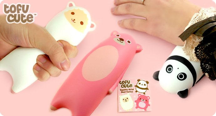 Kawaii Squishy Animal Wrist Rest