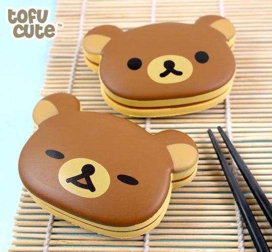Buy San-X Squishy Rilakkuma Dorayaki Pancake Wrist Rest at Tofu Cute: www.tofucute.com/squishy-rilakkuma-dorayaki-wrist-rest~p1066.html
