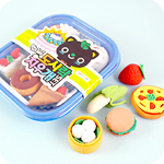Kawaii Food Eraser Set in Bento Box