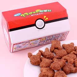 Pokemon Chocolate Snack with Sticker