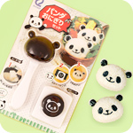 Kawaii Panda Face Onigiri Mould & Punch