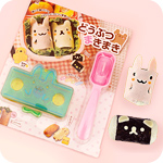 Kawaii Animals Bento Wrap & Roll Kit