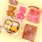 Kawaii Bear & Bunny Dress-Up Bento Set