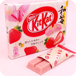 Kit Kat Gift Box 3-pack - Wa Ichigo