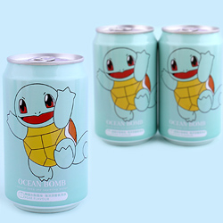 Pokemon Soda Can - Squirtle Pear