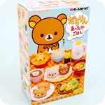 Re-Ment Rilakkuma Warm Meals