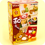 Re-Ment Rilakkuma Japanese Wa Cafe