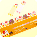 Sticky Note Marker - Berry Cake Slices