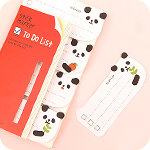 Sticky To Do List Marker Notes - Panda