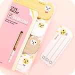 Sticky To Do List Marker Notes - Alpaca