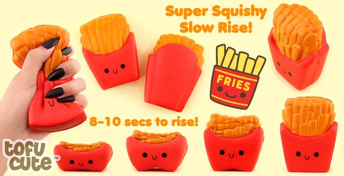 buy kawaii squishy red packet of fries at tofu cute