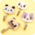 Kawaii Pets Adhesive Hooks Set of 4
