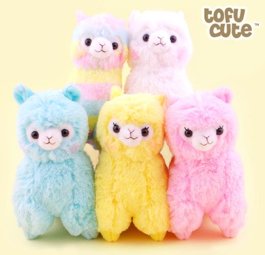 Buy Genuine Amuse Alpacasso Alpaca Rainbow 6 Inch Plush At