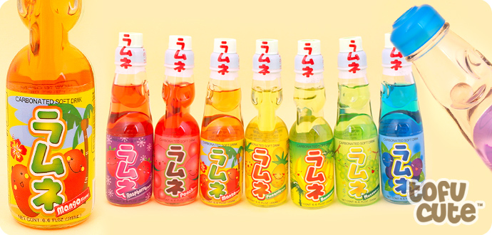Buy Ramune Japanese Soda Drink Mango At Tofu Cute