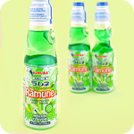 Ramune Japanese Soda Drink - Melon