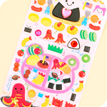 Jewel & Glitter Stickers - Bento Paradise