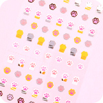 Kawaii Mini Cat Paw Seal Stickers