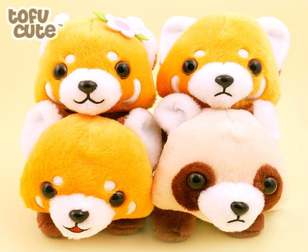 Buy Genuine Amuse Baby Red Panda 8 Inch Plush At Tofu Cute