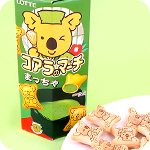Lotte Koala March Biscuits - Matcha