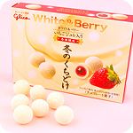 Glico White & Berry Winter Melty Chocolate