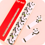 Sticky Marker Peep Out - Pandas