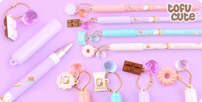 Hello Kitty Desserts Charm Fineliner Pen