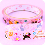 Kawaii Deco Tape - Secret Promenade