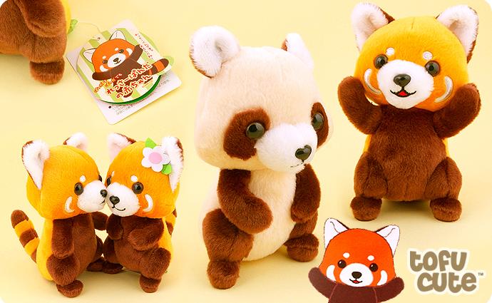 Buy Genuine Amuse Baby Red Panda Standing Plush At Tofu Cute