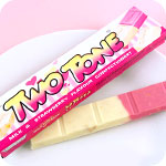 Glico Candy Two Tone Milk & Strawberry
