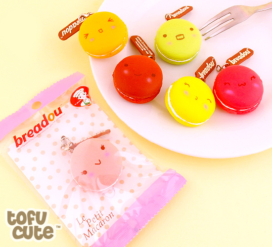 buy breadou squishy emotion le petit macaron charm at tofu cute