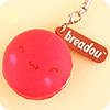 Buy Breadou Squishy Emotion Le Petit Macaron Charm at Tofu Cute