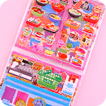 Interactive Sticker Set - Convenience Store
