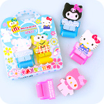 Hello Kitty Masquerade Set of 2 Rolling Erasers