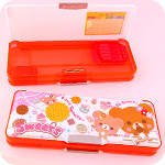 Multi-Section Pencil Box - Sweet Bears