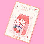 Strawberry Meiji au Lait