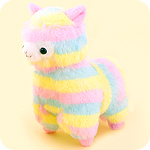 Amuse Rainbow Alpacasso 6-inch Plush