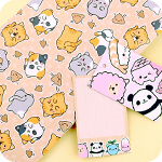 Tofu Cute Gift Wrap - Woops Poop Cat