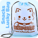 Tofu Cute Maneki Neko Snacks Lucky Bag