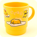 Gudetama Lazy Egg Stacking Plastic Mug