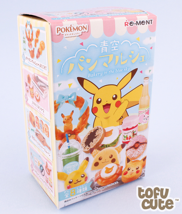 Pokemon Bakery in the Blue Sky Re-Ment rement miniature blind box