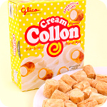Glico Collon Biscuit Roll - Cream Filling