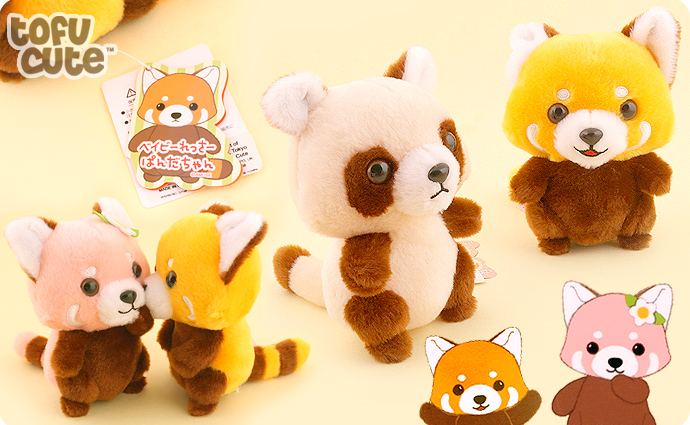 Amuse Baby Red Panda 15cm Plush