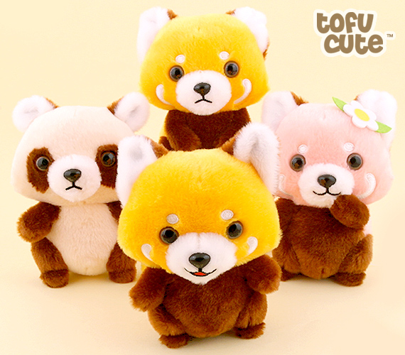 Buy Authentic Amuse Baby Red Panda Standing Up 15cm Plush At Tofu Cute